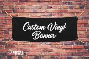 Vinyl Banners Pick Up From Office
