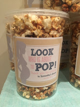 PRE PACKAGED POPCORN WITH LABEL