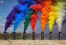 Pack of 6 Rainbow Smoke Grenades