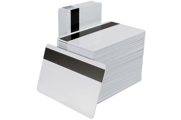 "CV-6040HE 60/40 Composite ID Card with 1/2"" HICO Magnetic Stripe (CR80/Credit Card Size, 2.13"" x 3.38"")"