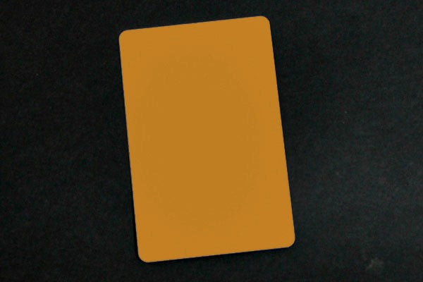 "1350-2040 Copper PVC ID Card (CR80/Credit Card Size, 2.13"" x 3.38"")"