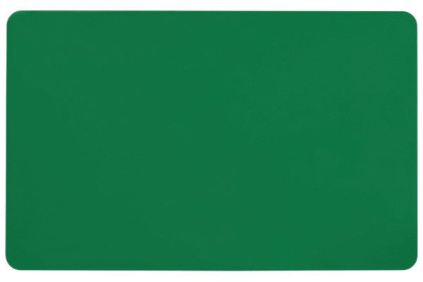 "1350-2070 Green PVC ID Card (CR80/Credit Card Size, 2.13"" x 3.38"")"