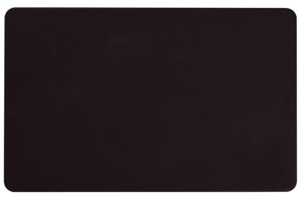 "1350-2095 Black PVC ID Card (CR80/Credit Card Size, 2.13"" x 3.38"")"