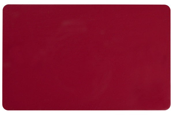 "1350-2110 Cranberry PVC ID Card (CR80/Credit Card Size, 2.13"" x 3.38"")"