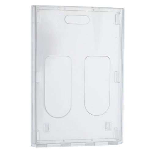 Rigid Wear Badge Holders Vertical - 2 card holder