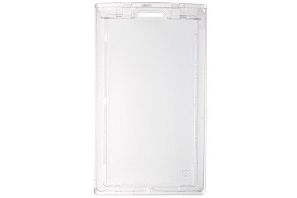 "1840-6630 Clear Plastic Vertical Locking Card Holder, 2.28"" x 3.8"""