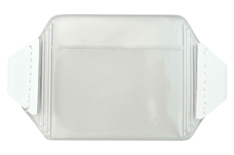 "1840-7000 Clear Vinyl Horizontal Arm Band Badge Holder, 3.62"" x 2.62"""