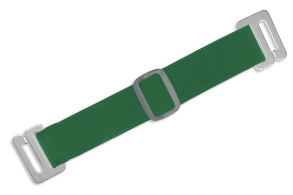 1840-7204 Green Adjustable Elastic Arm Band Strap