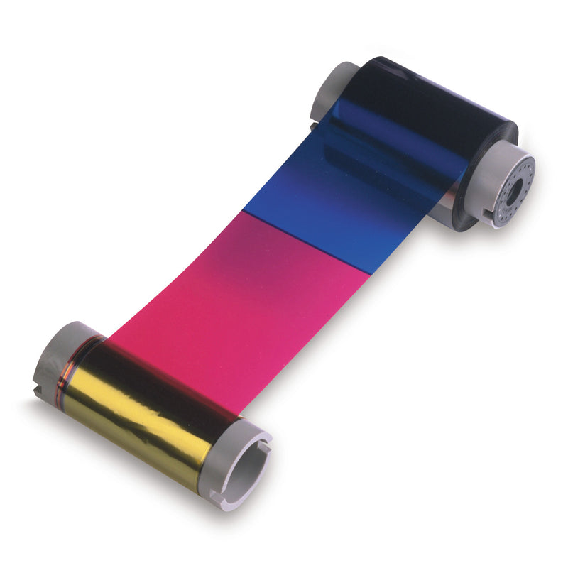 84013 Fargo HDP YMCKK Colour Printer Ribbon