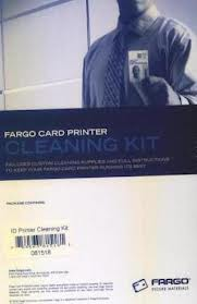 Fargo ID Printer Cleaning Kit