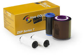 800077-740 Zebra ix Series Colour Ribbon for ZXP 7  YMCKO 250 prints