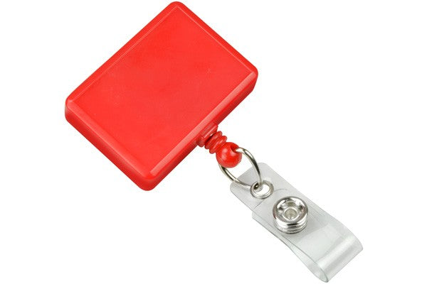 2120-3906 Red Rectangle Badge Reel