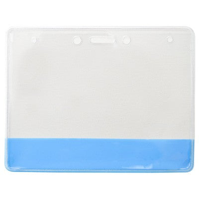 304-CB-BLU Vinyl Holder with Translucent Blue Colored Bar