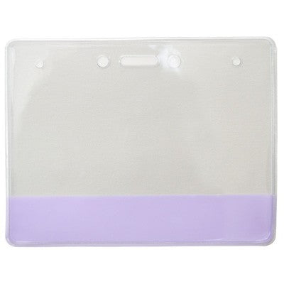 304-CB-PUR Vinyl Holder with Translucent Purple Colored Bar
