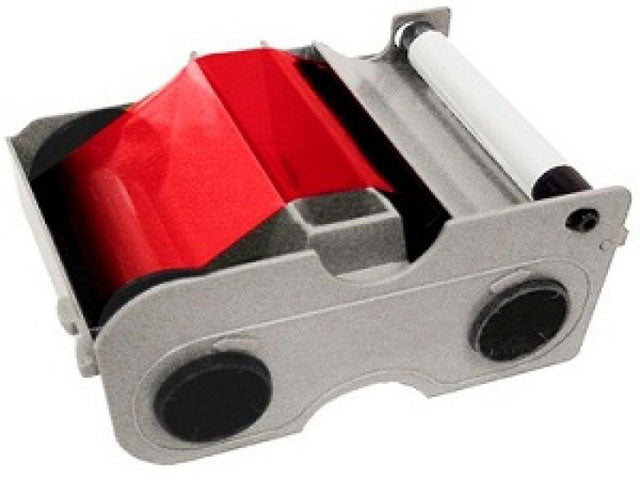 45105 Fargo Red Resin Ribbon DTC1000 series
