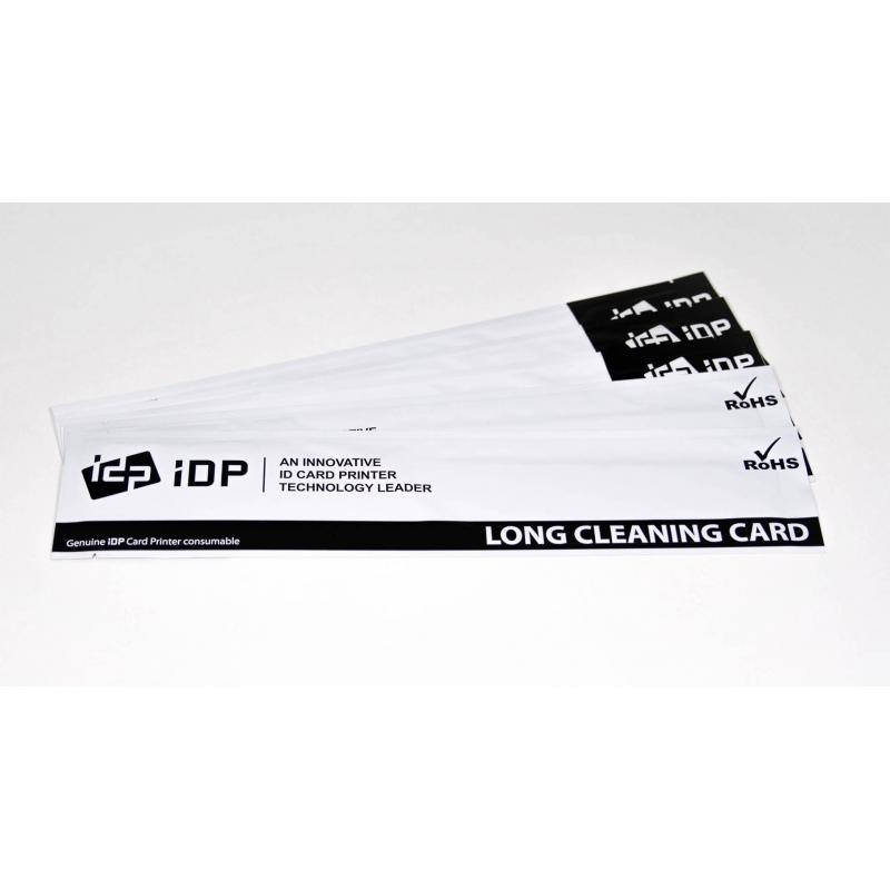 659909 Cleaning Kits - IDP Long Sleeve Cleaning Cards - 10/EA (For SMART-30-50-51-Series))