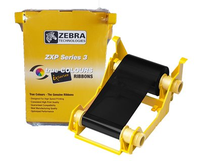 800033-801 Zebra Black Monochrome Ribbon for ZXP Series 3