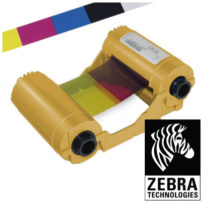 800033-340 Zebra ZXP series 3 Colour Ribbon -  280 Prints