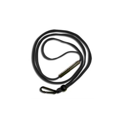 BAL-IV-PH Stock Black Lanyard w/ Plastic hook