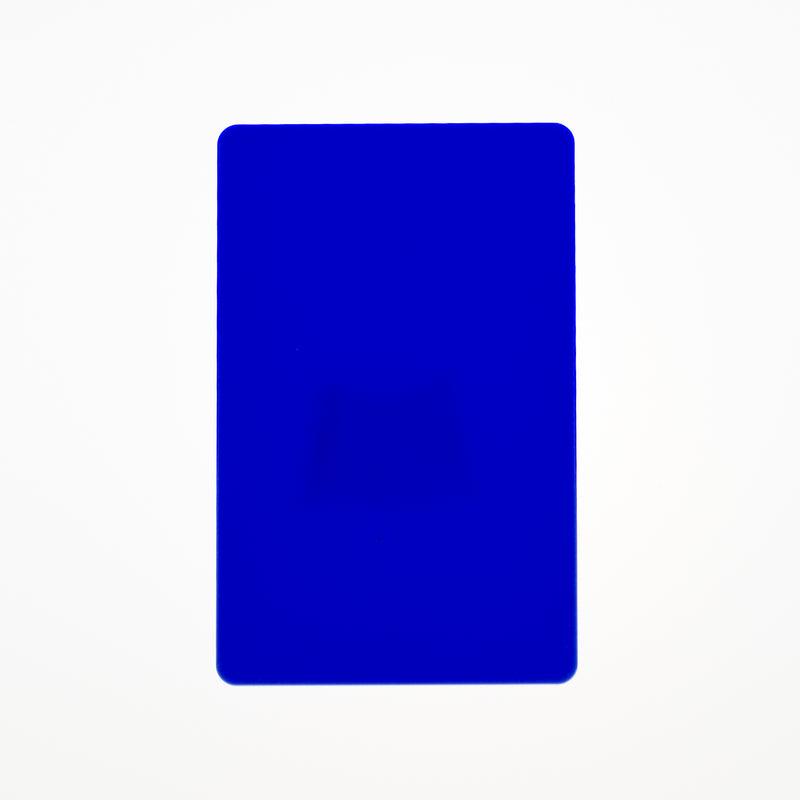 CR80/30 Blue-Colour PVC Cards