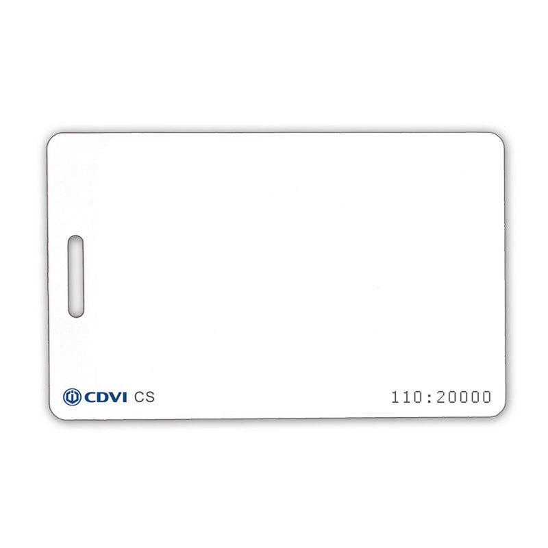 CDVI Clamshell Style Cards (702)