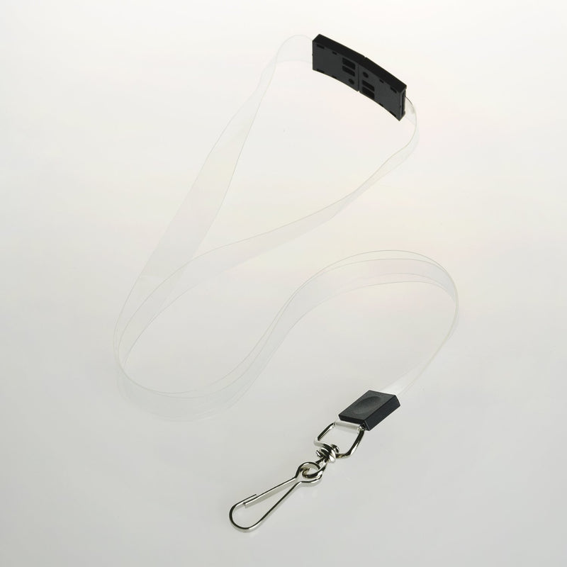Custom Printed Clear Vinyl Lanyards