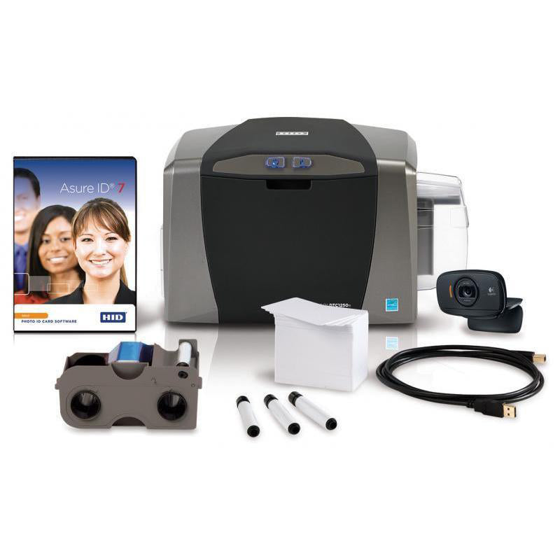 050600 Fargo DTC1250e Single Sided ID Card Printer System