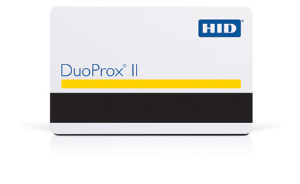 HID DuoProx II, 26bit, Format H10301, With Magnetic Stripe