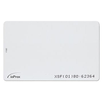 Kantech Printable CR80 IOPROX CARD XSF/ 26-BIT
