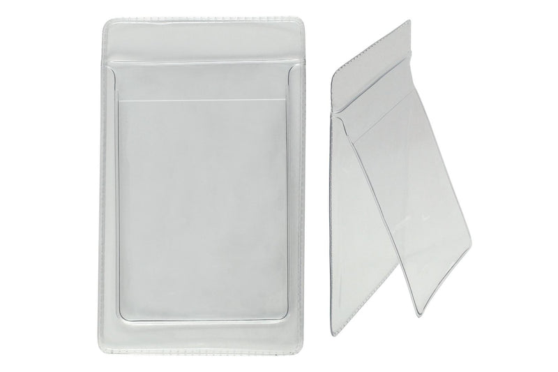 "PPL638 Clear Vinyl Vertical Pocket Protector, 3.19"" x 4.88"""
