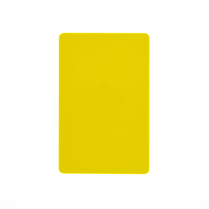 CR80/30 YELLOW-Colour PVC Cards