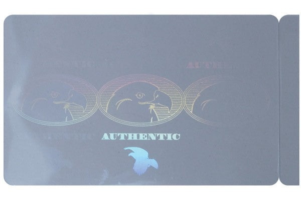 "PVC ID Card with Authentic Eagle Hologram (CR80/Credit Card Size, 2.13"" x 3.38"") CV-6040G-AUTHEGL"