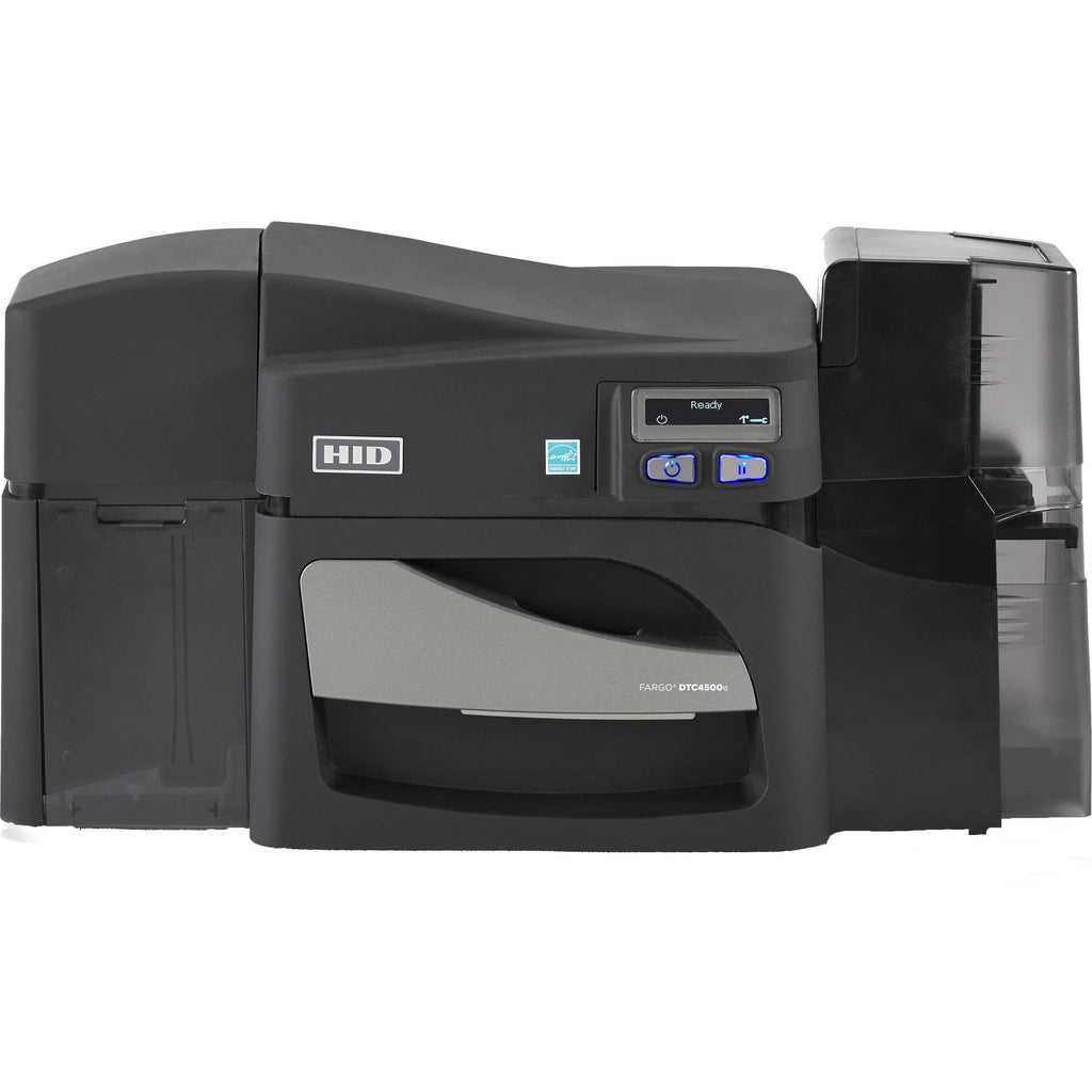 055100 Fargo DTC4500e Double Sided ID Card Printer
