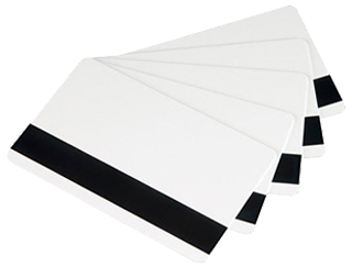 Magnetic Striped PVC Card (LOCO) Low Coercivity- Box of 500 Cards