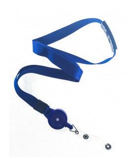 LANREEL- Royal Blue Lanyard Combo 15mm