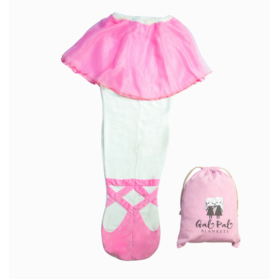 Ballerina Fleece Blanket