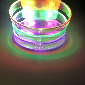 glow in the dark led bracelet