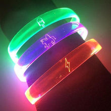 unicorn glow in the dark bracelet