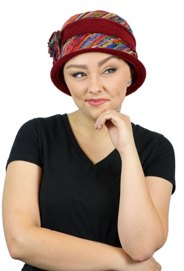 Abby Fleece Cloche Hat for Women