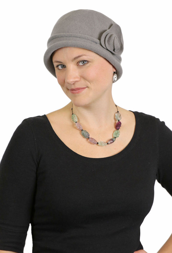 Ally Wool Cloche Hat by Parkhurst