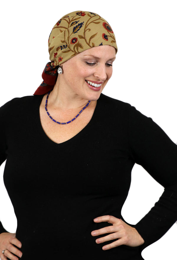 Aravalli Cotton Head Scarf Chemo Headwear Venice