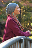 Bamboo Slouchy Beanie Cancer Headwear For Women - Solid Colors