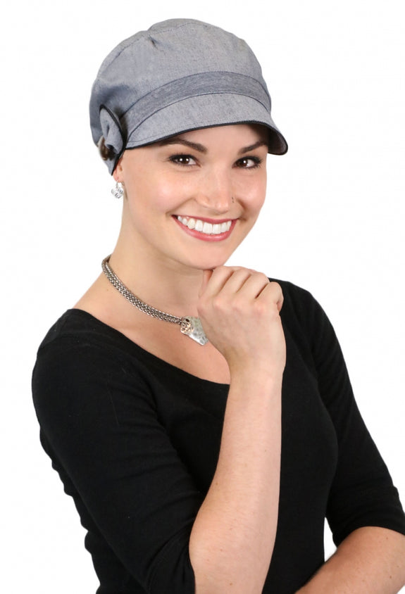 Barcelona Newsboy Hat for Women Small or Large Sizes