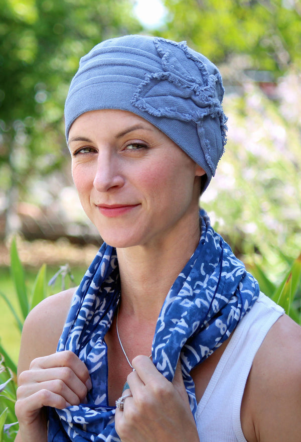 Butterfly Beanie Cotton Chemo Hat by Parkhurst