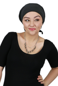 Luxury Bamboo Beanie 3 Seam Turban Cancer Headwear For Women