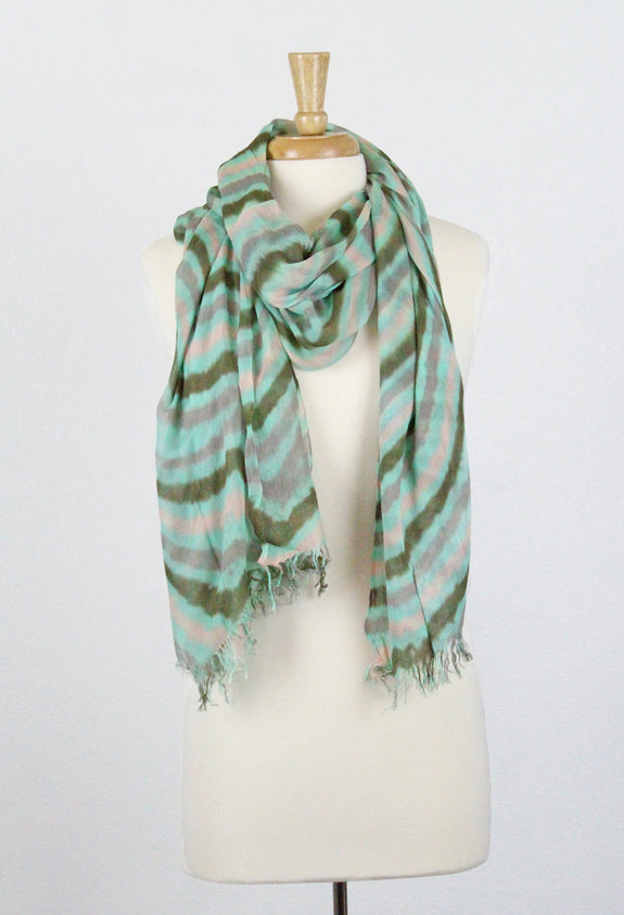 Carley Viscose Scarf Color