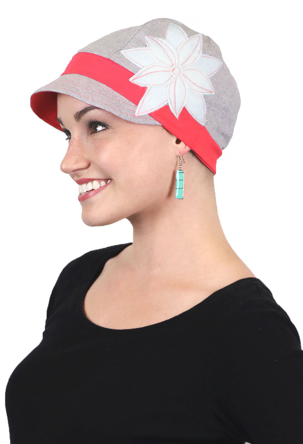 Whimsy Cotton Chemo Hat for Women Copacabana