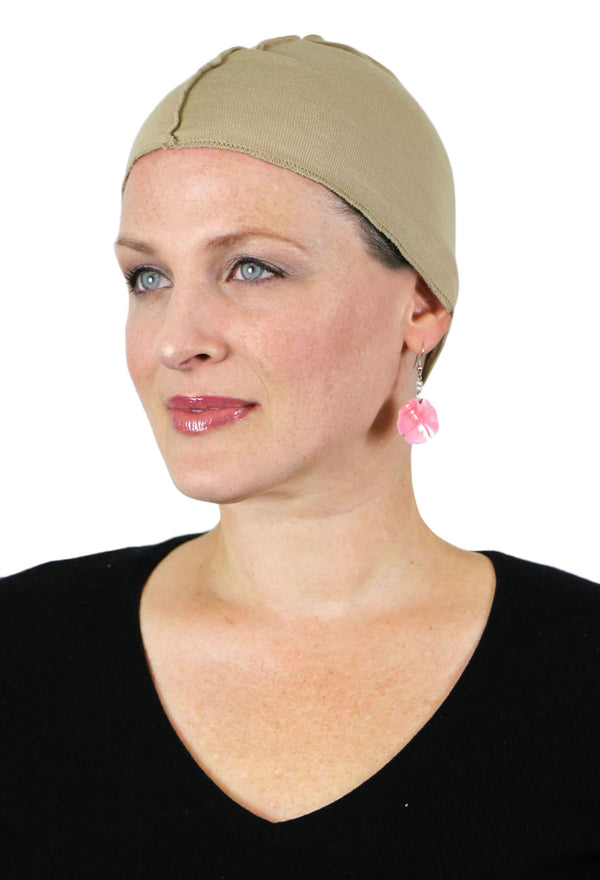 Soft Touch Cotton Wig & Hat Liner for Women with Hair Loss