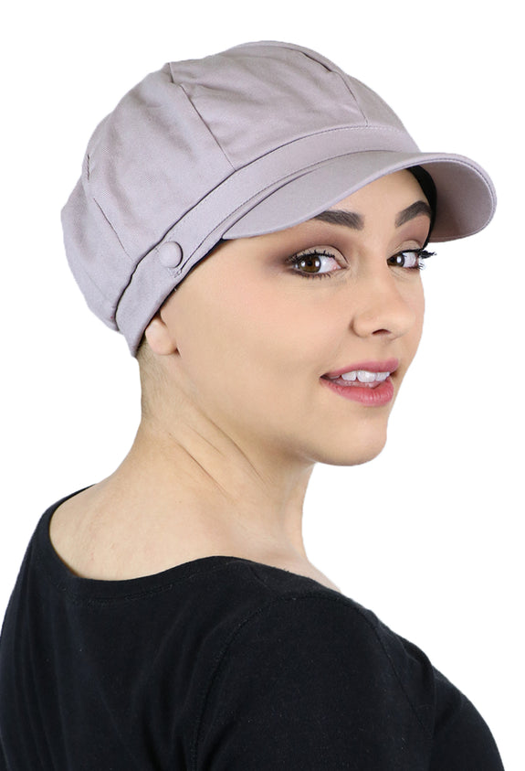 Darby Newsboy Hat for Women With Small Heads