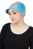 "Whimsy Soft Cotton Chemo Hat for Women ""Down By The Sea"""